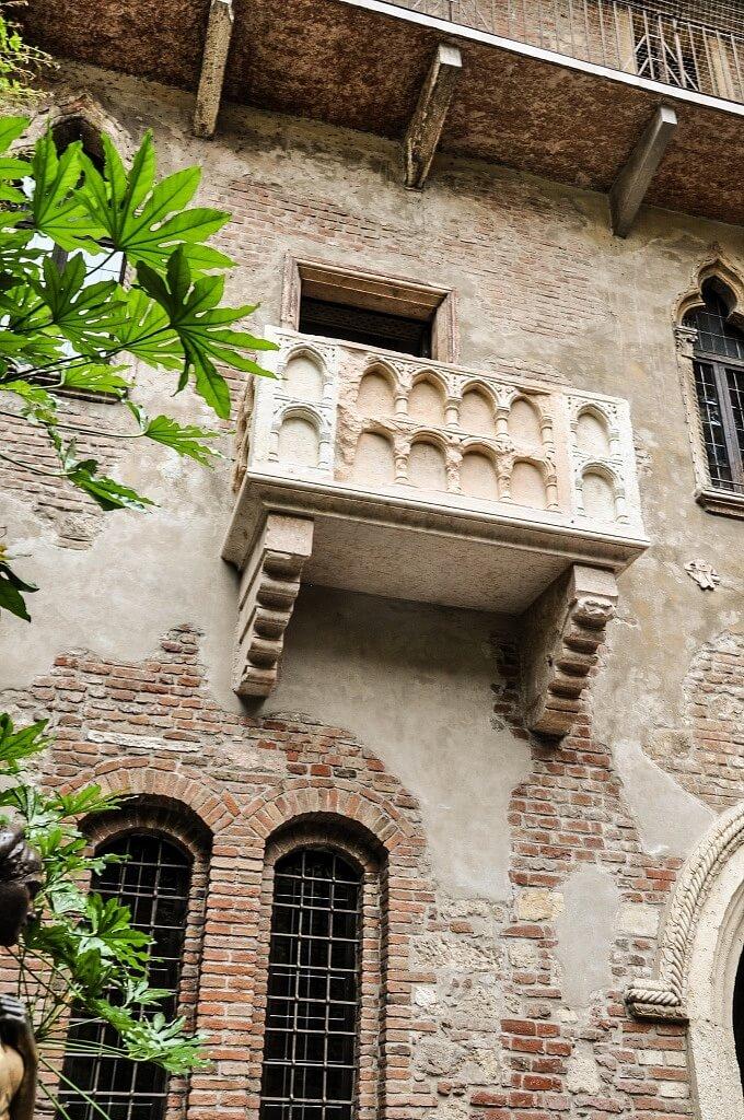 Juliets Balcony in Verona